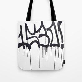 1530 Graffiti Handstyle Tote Bag