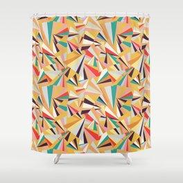 geometric fraction Shower Curtain