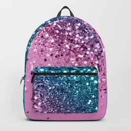 Tropical Beach Lady Glitter #8 #shiny #decor #art #society6 Backpack