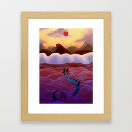 This New Ocean Framed Art Print