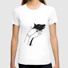 Dog shadow T-shirt