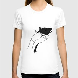 Dog shadow T-shirt