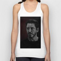 robert downey jr Tank Tops featuring Robert Downey Jr by Oput Studios