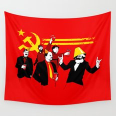 The Communist Party (original) Wall Tapestry