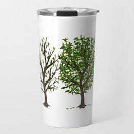 Four Seasons of Trees Travel Mug