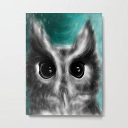 Eastern Screech Owl Metal Print