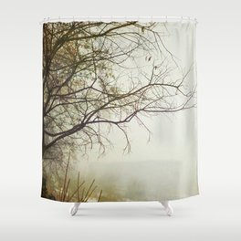 Escaping Into Your World Shower Curtain