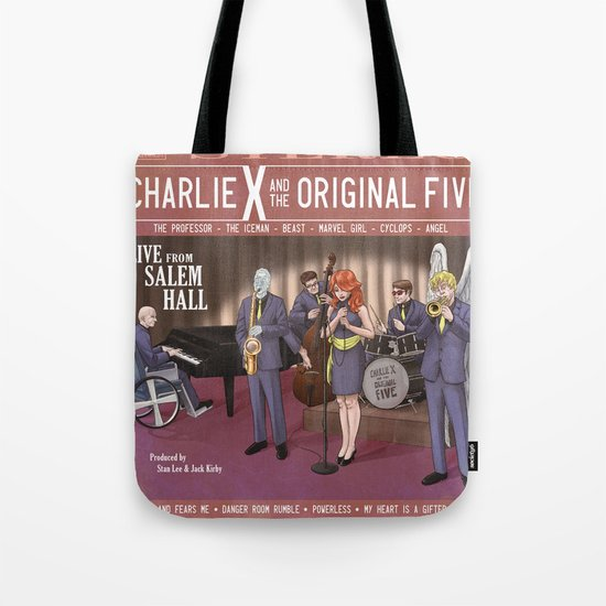Charlie X and the Original Five: Live at Salem Hall Tote Bag