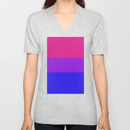 Bisexual Pride Flag Unisex V-Neck