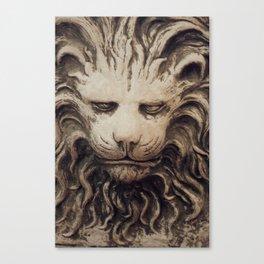 Big Lion Canvas Print