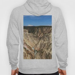 Yellow Rocks Of Yellowstone River Valley Hoody