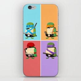 Turtles in Disguise iPhone Skin