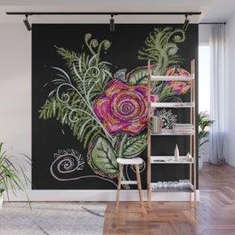 RazzleRose Wall Mural