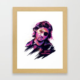 Kurt Russell: BAD ACTORS Framed Art Print