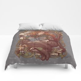 NOUVEAU FOLK WITCH Comforters