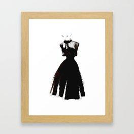 Retro Fashion Dress Series - Retro Fashion Dress MB Framed Art Print