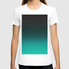 Ombre Turquoise T-shirt