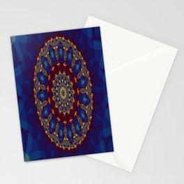 "Kaliedoscope/Mandala -  ""Stained Glass"" Stationery Cards"