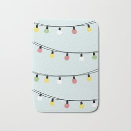 Fiesta and Lampions Bath Mat
