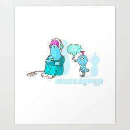 Poot Art Print