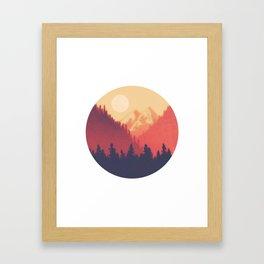 Pine Valley Framed Art Print