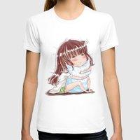 hug T-shirts featuring Hug by Kisava NiCh