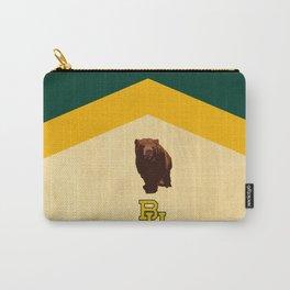 Baylor University - BU logo with bear Carry-All Pouch