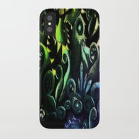 duvet cover iPhone & iPod Cases featuring LONELY FOREST DUVET COVER by aztosaha