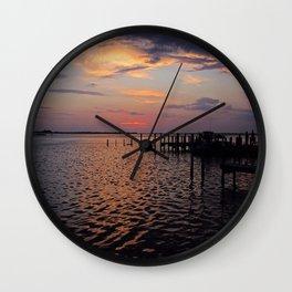 The Boatman's Banter Wall Clock