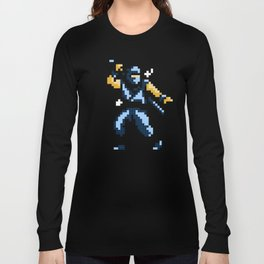 8bit Ninja Long Sleeve T-shirt