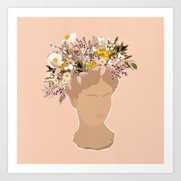 Guadalupe Flora II Art Print