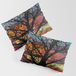 Candy Colour Sunset thru Boab Pillow Sham
