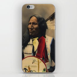 Strikes With Nose, Oglala Sioux Chief 1899 iPhone Skin