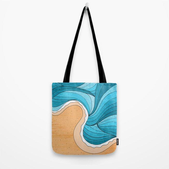 Beach Tide Tote Bag