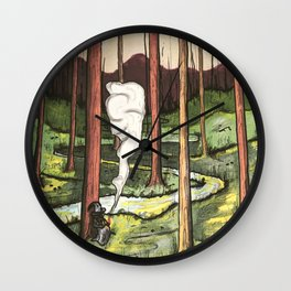 Wizards Valley Wall Clock