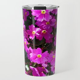 Primrose purple flower Travel Mug
