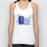 kindle Tank Tops featuring Come Away with Me by Karen Hallion Illustrations