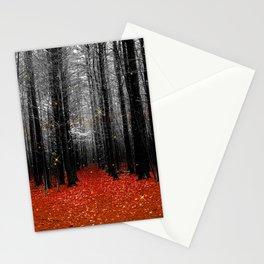 Firefly-orange Stationery Cards
