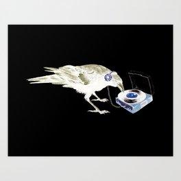 Ravens Like Music Too Art Print