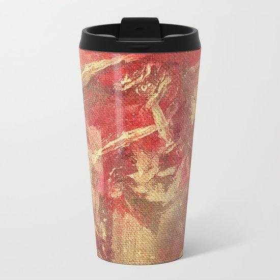 Broken Heart Metal Travel Mug