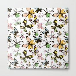 Ghosts of butterflies Metal Print