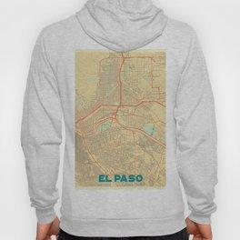 El Paso Map Retro Hoody