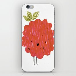 Eat Your Fruit! // Raspberry iPhone Skin