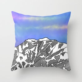 Mount Logan Throw Pillow