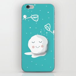 Building a snowball iPhone Skin