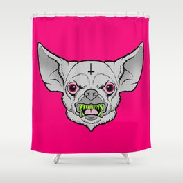All Bark All Bite Shower Curtain
