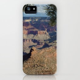 Battleship Rock, Grand Canyon NP, AZ -- Just after sunrise iPhone Case