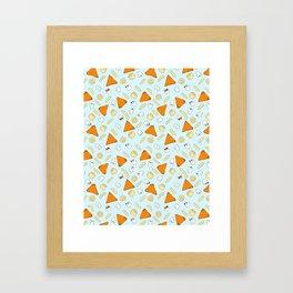 Cheesy Bites Framed Art Print