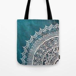 Jade Mandala Tote Bag
