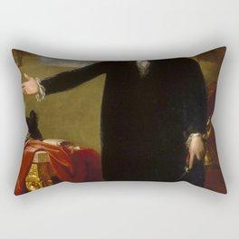 George Washington Painting Rectangular Pillow